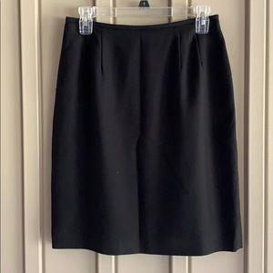 Kasper & Company Black Skirt size 6